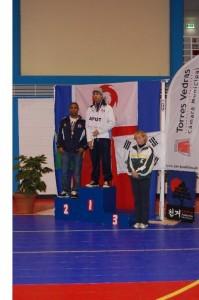 Dante Lopes  Campeão Distrital  Sénior Masculino (-74kg)